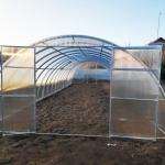 Фермерская теплица из трубы ширина 3,5 и 4м.
