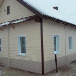 обшивка фасадов сайдингом, утепление