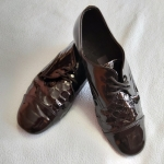 Продам лаковые туфли 38 размера для спортивно-бальных танцев