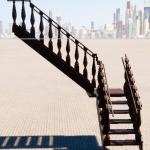 Продам новую деревянную лестницу