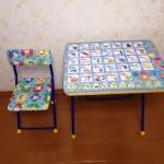 Стол и стульчик детский