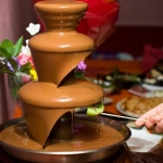 Шоколадный фонтан г. Солигорск