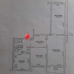 Светлая 3х комнатная квартира