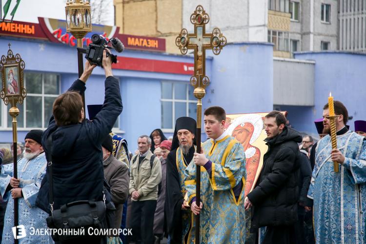 c08c4b70da8c Святыня с Афона. Фоторепортаж о принесении в Солигорск копии ...