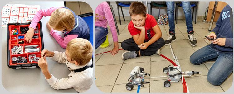 знакомства с роботами