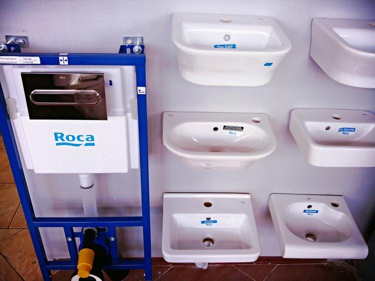 Инсталляции и мини-раковины Roca в Солигорске